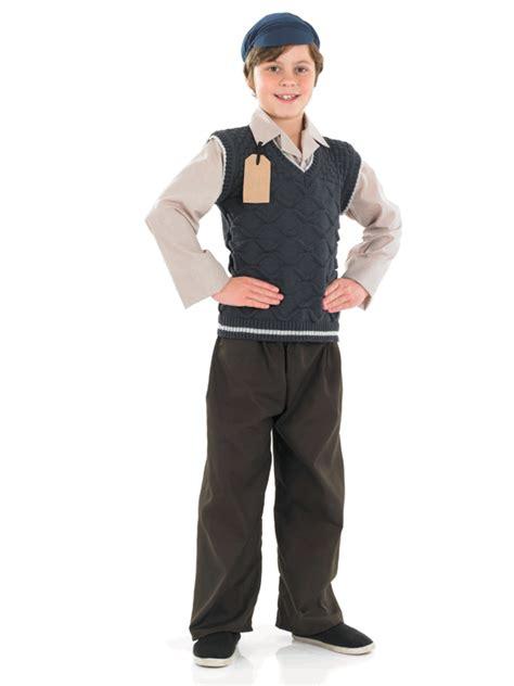 Childs Evacuee School Boy Outfit Fancy Dress Costume WW2 1940s Book Week Boys | eBay