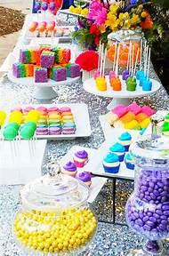 Trolls For Birthday Party Dessert Table Ideas