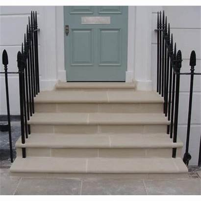Steps Bullnose Stone Reconstituted Cast Dry Treads