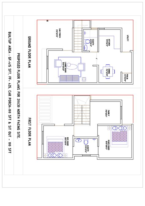 north facing house plans