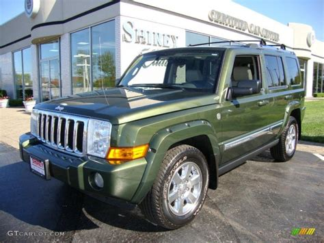 jeep metallic 2006 jeep green metallic jeep commander limited 4x4