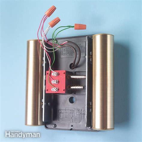 adding   doorbell chime  family handyman