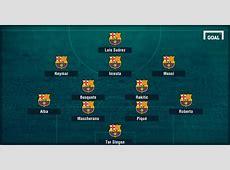 Enrique ndryshon formacionin e Barcelonës FOTO – Lajminet