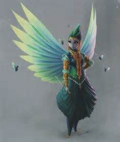 Tooth Fairy character designs for Rise of the Guardians ...