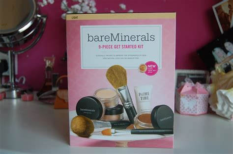 floral republic bare minerals  started complexion kit