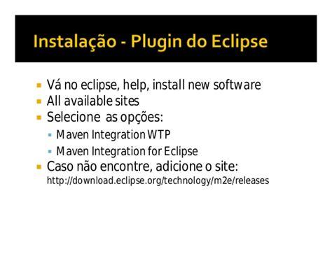 baixar plugin maven eclipse para windows builder