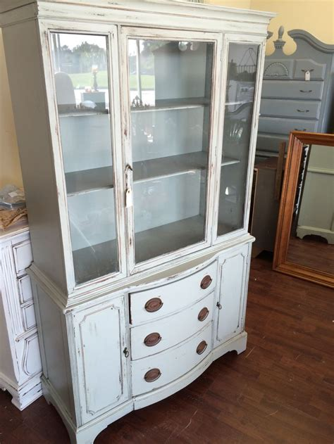 painted duncan phyfe china cabinet 17 best ideas about distressed hutch on