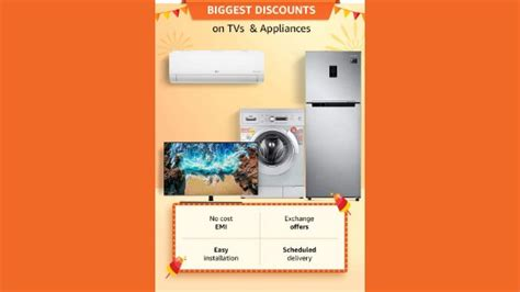 Flight booking, recharges, bill payment). Amazon Great Indian Festival Sale On Smartphones, Electronics, Smart Tvs And More - Gizbot News