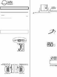 Download Aube Technologies Thermostat Th101a Manual And