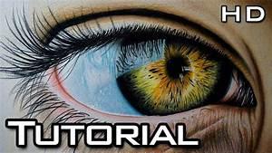 Cómo Dibujar un Ojo Realista Paso a Paso con Lápices de Colores Tutorial YouTube