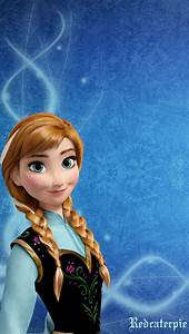 Frozen Anna iPhone Wallpaper by Redcaterpie on DeviantArt