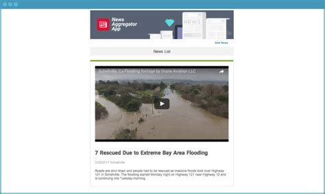 News Aggregator Template by Keep Your News Fresh With This Free News Aggregator App