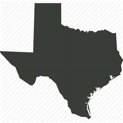 Texas State Icon Map Usa America Location