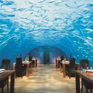 Underwater hotel/restaurant Maldives candle board Pinterest