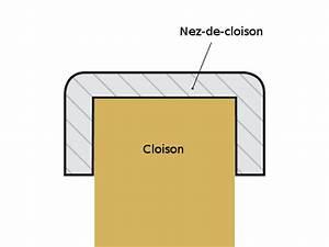 Nez De Cloison Modulable : nez de cloison renfort et esth tique reussir ses travaux ~ Dode.kayakingforconservation.com Idées de Décoration