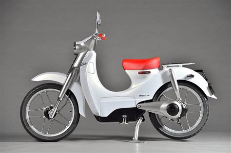Honda Cub by Planet Japan Honda Cub Concept Ev Cub