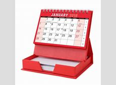 2019 Month To View Stand Up Desk Office Top Calendar