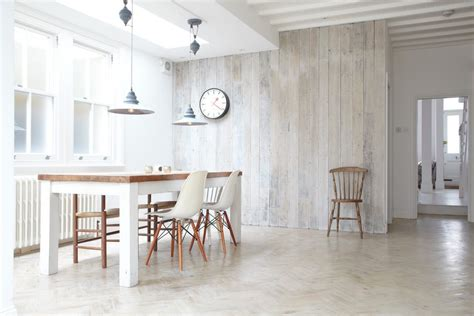 white wood dining white wood wall dining room scandinavian with recycled