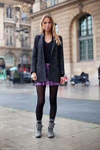 Bottines Avec Robe : les boots plates tendances de mode ~ Carolinahurricanesstore.com Idées de Décoration