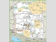 Large Arizona Maps for Free Download and Print High