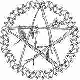 Pentagram Celtic Drawing Pagan Drawings Pentacle Coloring Pages Flowery Deviantart Template Sketch Vector Mobile Getdrawings Paintingvalley Editor Diy sketch template