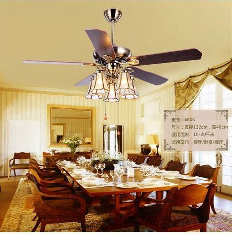 american art copper shade  ceiling fan lightstiffany