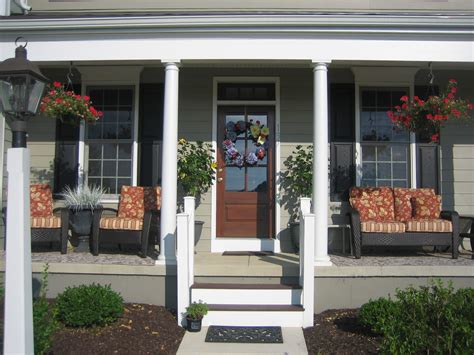 Front Door And Porch Ideas by Upgrade Your House Exterior With These Tricks Homesfeed