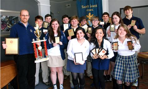 stj named champions ua forensics tourney saint james school