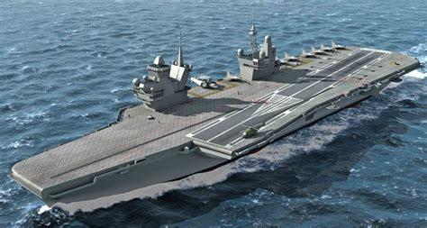 futurs porte avions accord entre les industriels fran 231 ais et britanniques mer et marine