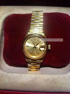 Rolex Oyster Perpetual Damen : rolex oyster perpetual datejust damen armbanduhr 18 karat gold 69178 ~ Frokenaadalensverden.com Haus und Dekorationen