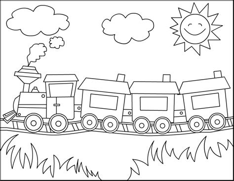 Halloween Childrens Books 2017 by Free Printable Train Coloring Pages For Kids
