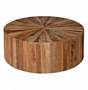 Cool solid round coffee table solid timber round coffee for Cheap round wood coffee table