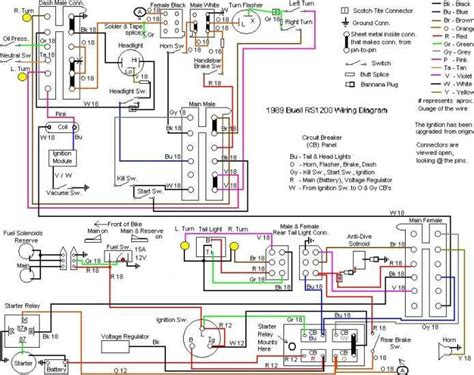 2003 Buell Blast Wiring Diagram by Buell Forum Wiring Diagram 1989 Rs1200