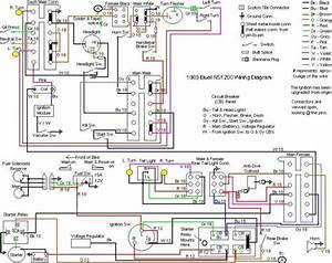 Buell Forum  Wiring Diagram  1989  Rs1200