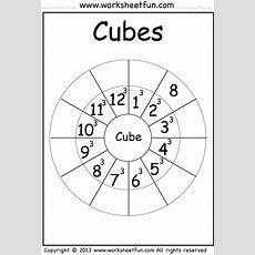 Cube  112  Worksheet  Free Printable Worksheets Worksheetfun
