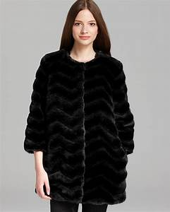Bloomingdales Size Chart Sam Edelman Coat Chevron Faux Fur Bloomingdale 39 S
