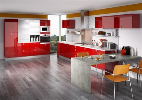 cuisine schuller prix cuisine et modele reflet bordeau brillant moderne mobilier décoration architecture