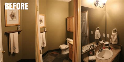 One Day Bathroom Makeover by Easy Farmhouse Diy Bathroom Makeover In One Day 300