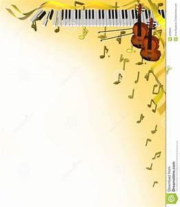 Music corner frame stock illustration. Image of cover ...