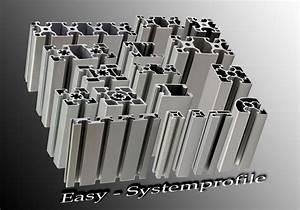 Alu Vierkant Stecksystem : easy systemprofile easy systemprofile maschinenbauprofile aluprofile alu profile ~ Sanjose-hotels-ca.com Haus und Dekorationen