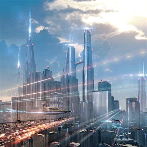 Futuristic-city by Vitaly-Sokol on DeviantArt
