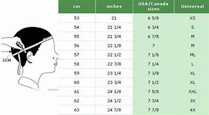 Mens Hat Size Chart