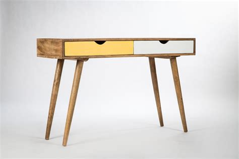 bureau console design petit bureau design scandinave bricolage maison et décoration