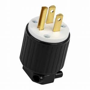 Lk7515p 15 Amp 125vac Male Plug For Generator Cords Non