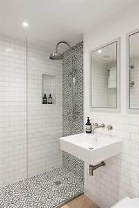 London, Small, Shower, Tile, Designs, Bathroom, Contemporary, With, Wall, Mirror, Mosaic, Tiles, Rain, Head