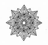 Geometric Coloring Pages Shapes Printable Mandala Tattoo Pattern Designs Shape Patterns Drawing Sheets Colouring Incredible Geometry Adult Printables Mandalas Tattoos sketch template