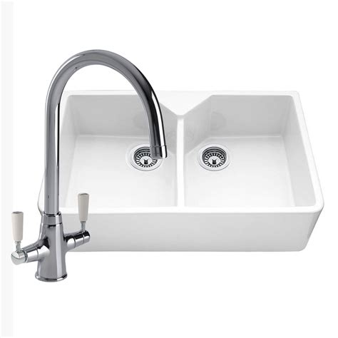 ceramic kitchen sinks and taps bowl ceramic kitchen sink with free tap sinks 8092