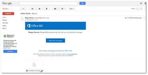 Office 365 Gmail by Send Encrypted Emails To Anyone Using Office 365 Matt