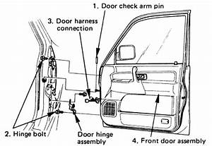 Diagrams To Remove 1996 Isuzu Trooper Driver Door Panel