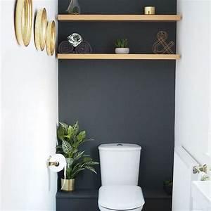 Etagere Papier Toilette : rangement wc id es pratiques pour toilettes c t maison ~ Teatrodelosmanantiales.com Idées de Décoration